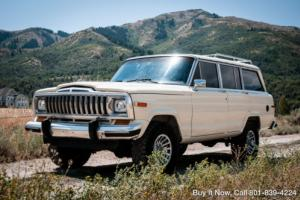 1986 Jeep Wagoneer Grand, NEW REBUILT 360 V8 & TRANNY, GLOSSY PAINT