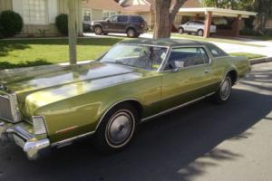 1973 Lincoln Continental IV