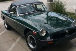 1978 MG MGB 4 barrel sidedraft Weber