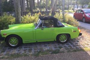 1976 MG MGB Photo