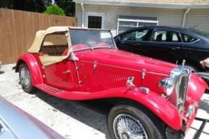 1981 Replica/Kit Makes 1952 MG TD Photo