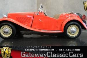 1950 MG T-Series Photo