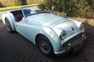 1960 Triumph TR3 908uym Photo
