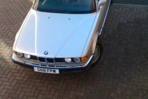 1989 BMW E32 735 I SE AUTO BRONZE 71K GENUINE MILES, FSH, BEST EXAMPLE SWAP P/X