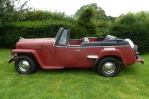 Willys Jeep, (Jeepster).1951.-VERY RARE IN UK