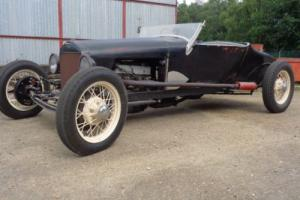 ford model T hot rod 1927 roadster replica custom rod rat proper v5 regestred