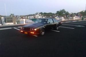 1987 Buick Grand National SFI