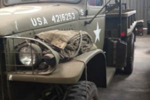 GMC 353 WW2 US Army truck French registered-only 5712 miles-amazing condition