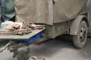 GMC Dodge WC Ben Hurr 1 tonne trailer WW2 very good condition located SW France