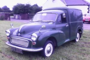 Morris minor van.....No reserve