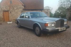 rolls royce silver spirit (not bentley)