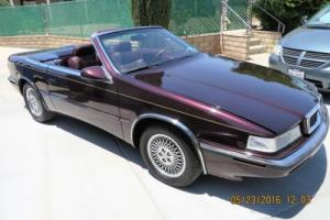 1989 Chrysler TC Maserati