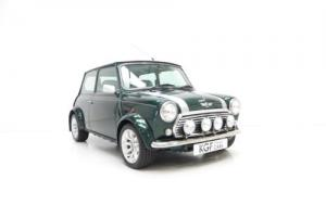 A Final Mini Classic Cooper Sport 2000 with One Owner and 15,953 Miles