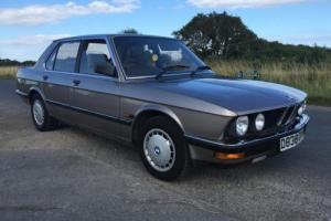 1987 BMW 520I AUTO 71K 5 SERIES A REAL CLASSIC SUPER CLEAN NO SWAP RECOVERY