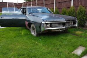 1969 Chevrolet Impala custom COUPE V8 5.7L project + parts MUSCLE CAR