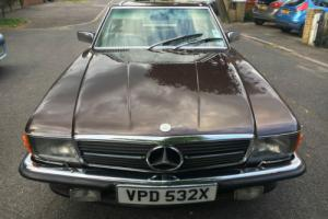 1982 MERCEDES-BENZ 380SL CONVERTIBLE RHD