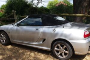 2007 MG TF SILVER 1796cc CAR Lady owner 59k miles. Used as summer Car Exc.