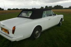 Rolls Royce Corniche Convertible 1989 - MOT Feb 2017 - £14,000 recently spent.