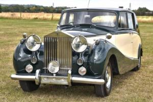 1955 Rolls Royce Silver Wraith Hooper Touring Limousine