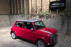 ROVER CLASSIC MINI COOPER SPORT 500 1.3i RS500 Petrol Manual Solar Red 2000 X