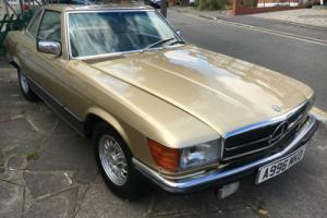 1983 MERCEDES-BENZ 500SL CONVERTIBLE HPI CLEAR GREAT CONDITION FOR YEAR