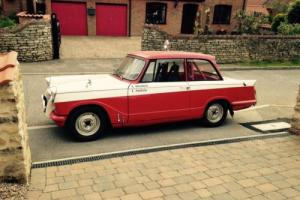 Triumph Herald Historic Rally Car Appendix K Photo