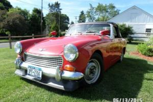 1969 Austin Healey Sprite British Sports Car