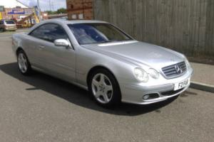 MERCEDES CL500 COUPE AUTOMATIC - 2002/52 REG - LOVELY CONDITION PART EX TO CLEAR