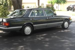 1988 Mercedes-Benz S-Class 420 SEL Photo