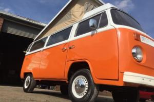 Vw t2 bay window camper pop top project newly painted