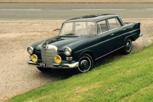 1967 Mercedes fintail 200 with sunroof fantastic example massive history !!