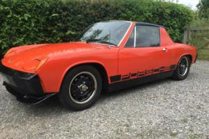 1972 PORSCHE 914-4 1.7 ORANGE ON BLACK / PORSCHE 914/ CLASSIC PORSCHE /