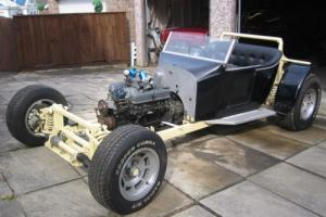 MODEL T BUCKET HOT ROD CLASSIC DRAGSTER ROLLING CHASSIS V8 AMERICAN
