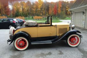 1930 Ford Model A cabrolet