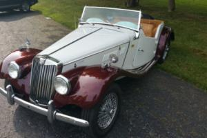 1955 MG T-Series TF 1500 Photo