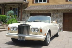 1989 Rolls-Royce Corniche Photo