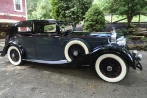 1938 Rolls-Royce Park Ward Razor Back Sports Saloon Photo