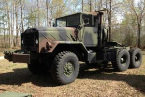 1983 Military 5 Ton M932 A1 Tractor Truck, 20klb Winch, 1336 miles NO RESERVE