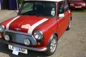 Rover mini cooper 1994 needs body work, low miles drives great.