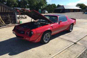 CHEVY CAMARO Z28 454 Big Block Muscle Car Hotrod Not Pontiac Trans Am or Mustang