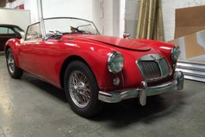 1960 SERIES 1 MGA FRESH IMPORT 1600 LHD WIRE WHEELS 48K MILES READY SOON Photo