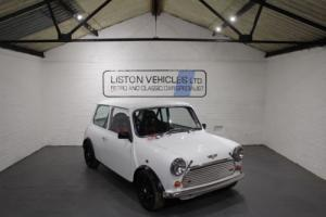FOR SALE: 1995 ROVER MINI COOPER 1.3I WHITE MIGHTY MINI