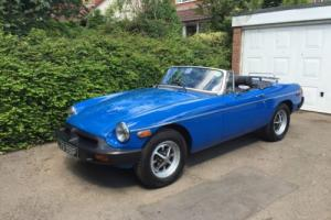 1976 MGB Roadster with Overdrive