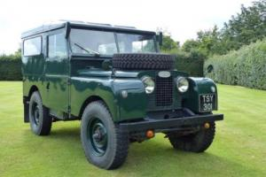 1957 LAND ROVER SERIES 1 (ONE) EX MOD 88'' RARE HARDTOP VERSION