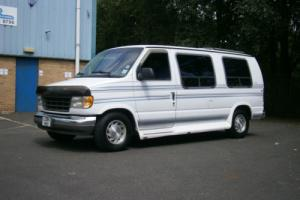 1994 FORD ECONOLINE DAYVAN 7 SEATER WITH ELECTRIC FOLD DOWN REAR BED