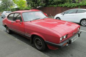 1986 FORD CAPRI LASER RED 90000 MILES