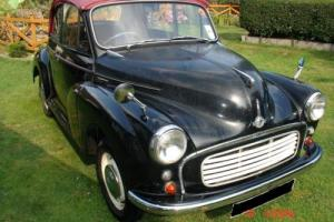 1957 MORRIS MINOR CONVERTIBLE USUALLY USED REGULARLY, RUNNING RESTORATION.