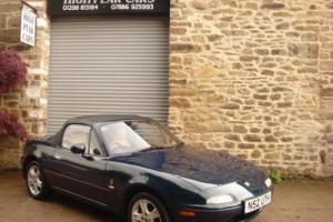 1996 N MAZDA MX5 1.8 GLENEAGLES CONVERTIBLE SPECIAL EDITION LEATHER 88381 MILES.