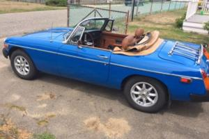 1977 MG MGB B Photo