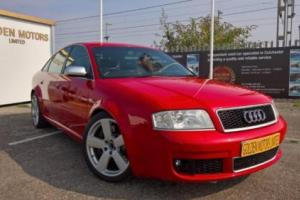 Audi RS6 4.2 V8 TWIN TURBO Quattro PETROL AUTOMATIC 2003/4